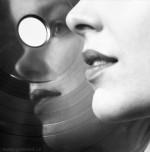 Gabina Fárová, Profil v záznamu (serie Posouvání), 2014, vintage gelatin silver print, 83x83cm