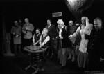 Silvestr v divadle - 31.12.2000 - formát 30x40 cm - kinofilm, černobílá zvětšeni