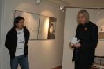 Z vernisáže výstavy V. Kopasze - Omlazování/Rejuvenation
