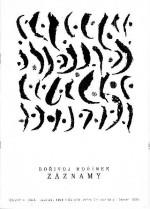 Bořivoj Hořínek - Záznamy