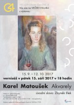 Karel Matoušek - Akvarely