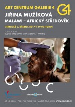 Jiřina Mužíková / Malawi - Africký středověk a Ladislav Šolc / DIPTYCHY - Mezi nebem a zemí   3.3.-2.4.2017