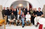 Kolektiv fotografů z mezinárodní dílny Aš 2008 včetně emeritního a současného ředitele Mueza Aš