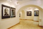 část instalace výstavy Petr Zhoř - Fotografie